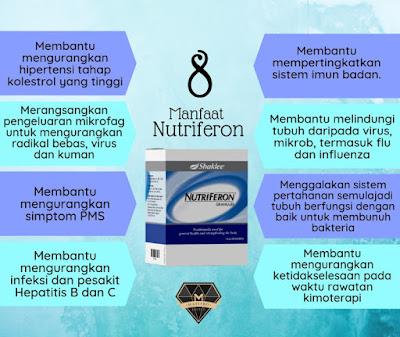 manfaat utama nutriferon shaklee