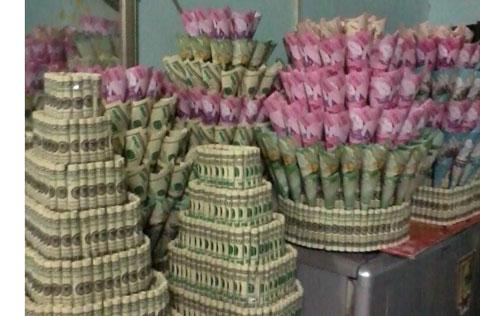 20 bó hoa sinh nhật bằng tiền và đô la độc đáo bá đạo 10