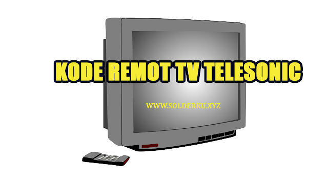 Kode Remot tv telesonic