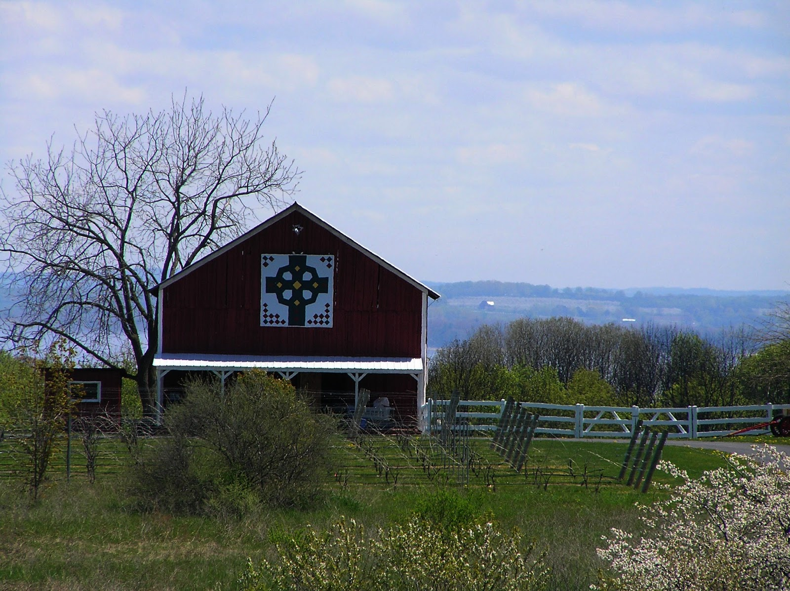 New York State Of Mind Old Mission Peninsula Barn Quilts