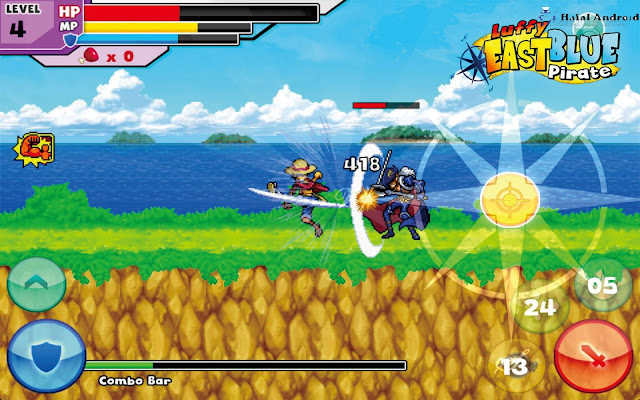 Game Battle Of Luffy Pirate Fight Android