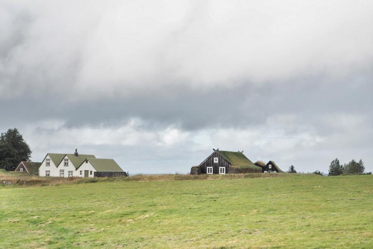 Musée en plein air de Árbæjarsafn à Reykjavik en Islande