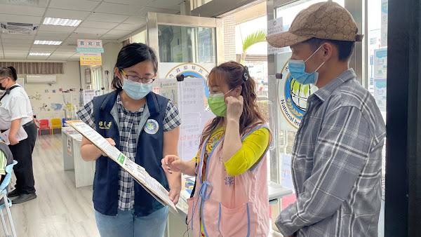 防疫不分國籍齊心抗疫 移民署彰化縣服務站強化宣導