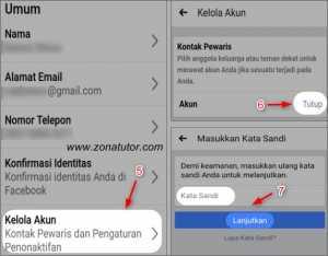 Cara Menghapus Akun Facebook Permanen Selamanya Lewat HP