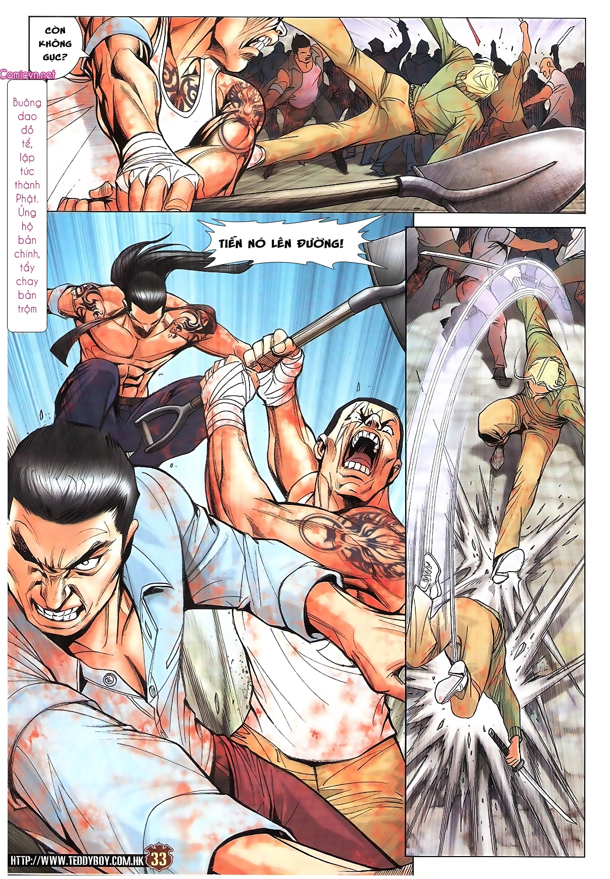 Người Trong Giang Hồ chapter 1834: kim mông không vs kim mông không trang 30