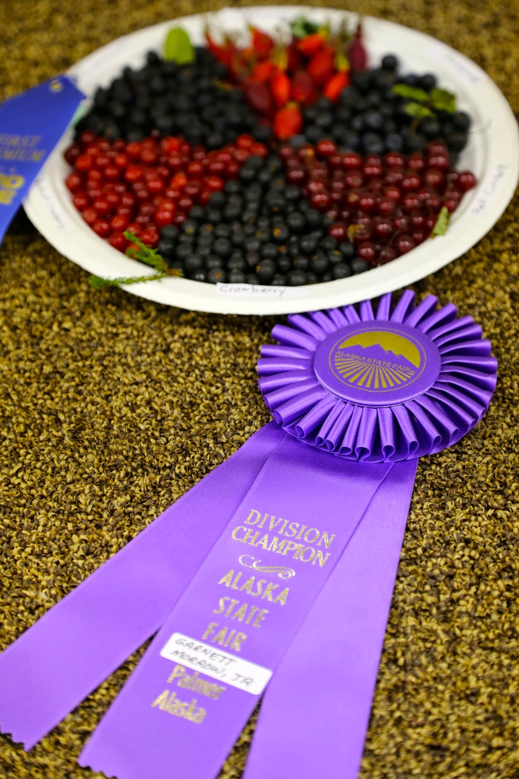 Alaskan berries, State Fair, Alaska