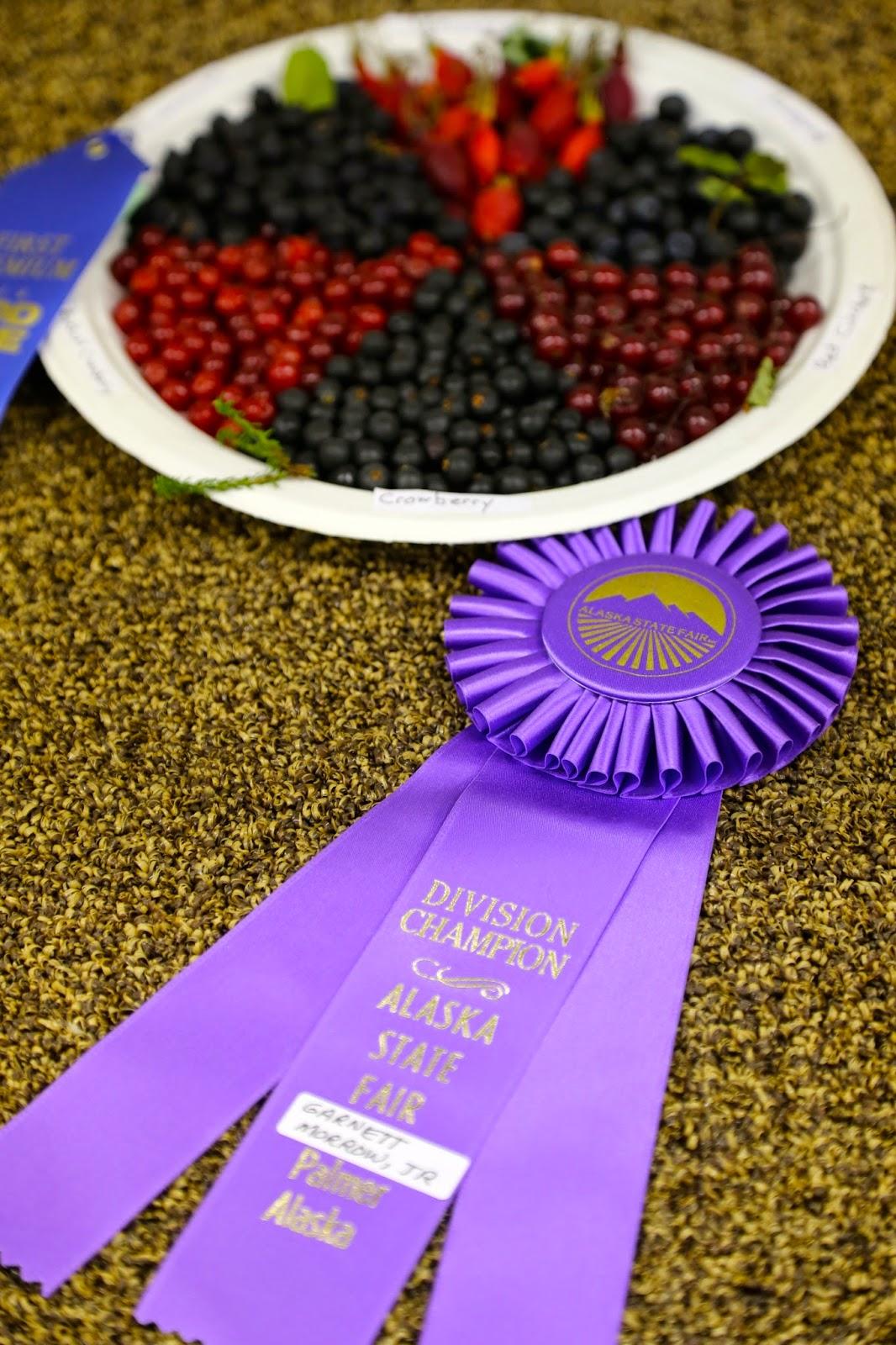 Alaskan berries, State Fair, Alaska