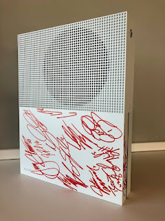 Win an 'Xbox One S' Signed by all 2017 #NASCAR XFINITY Series Playoff Drivers!