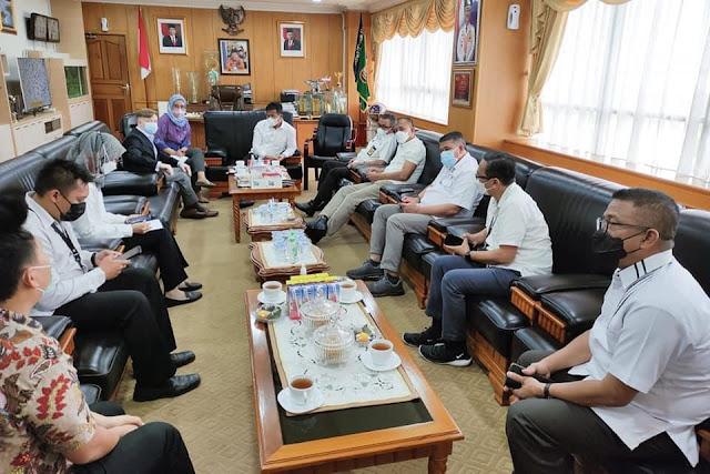 Konsulat AS Melakukan Kunker ke Pemko Batam