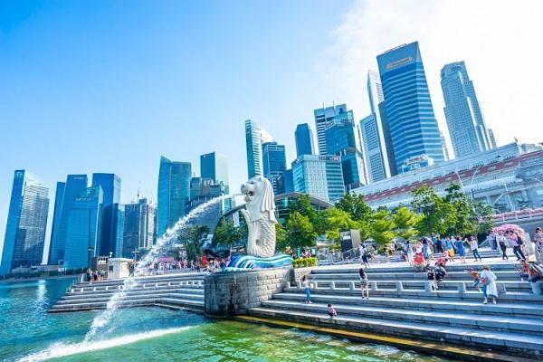 Merlion Biểu tượng của đất nước Singapore