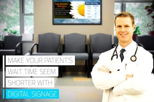How Doctors' Offices Can Captivate Their Patients in the Lobby with Digital Signage
