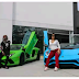 CELEBRITY COUPLE: Cardi B & Offset Lease Twin Lambos