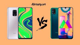 Samsung M31 vs Redmi Note 9S