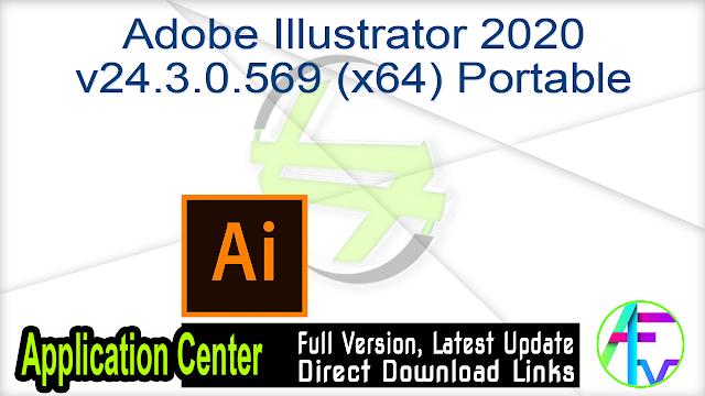 Adobe Illustrator 2020 v24.3.0.569 (x64) Portable