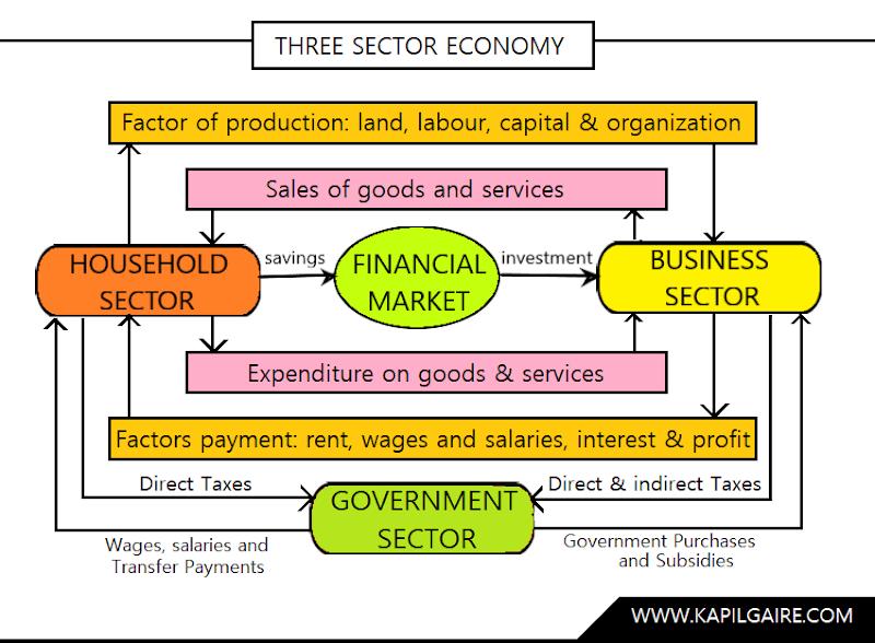 Three Sector Economy | Macroeconomics | BBS