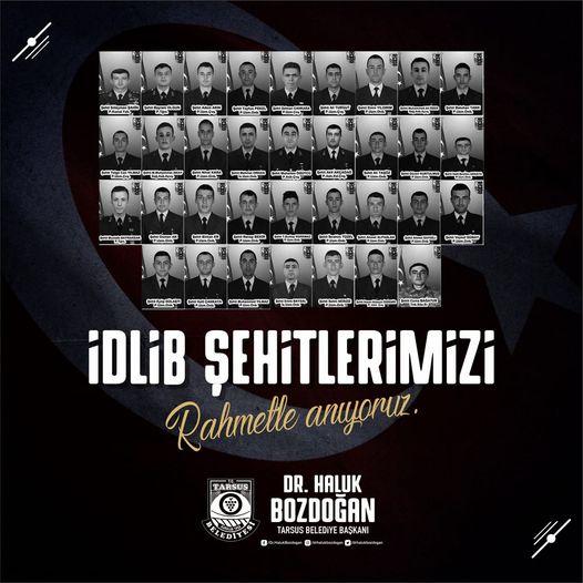 34 Türk askerimizi rahmet ve minnetle anıyoruz