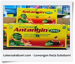 Lowongan Kerja PT Jaya Bakti Raharja ( Distributor Antangin ) Sukabumi