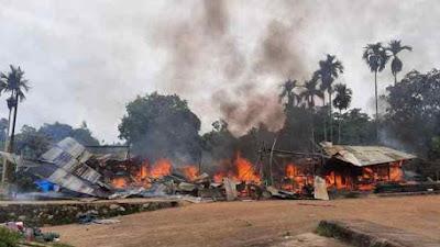 Duka Karena Banjir Belum Usai, Masyarakat Solsel Ini Dirundung Musibah Kebakaran