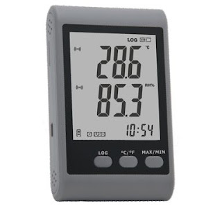 Wellzion GSM-20 GSM Temperature Humidity Data Logger