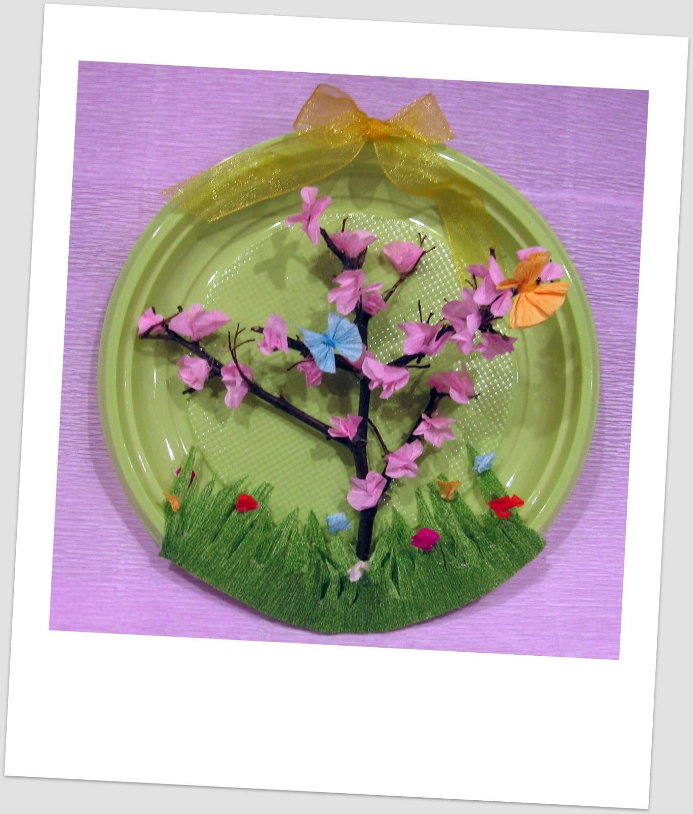 Dalla a allo zucchero la primavera decorazioni per la for Addobbi scuola infanzia