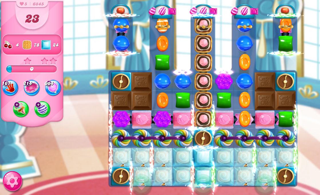 Candy Crush Saga level 6845