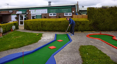 Crazy Golf at Tea Green Golf at Wandon End, Luton