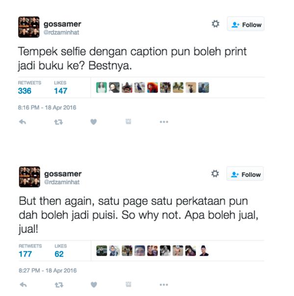 Pelakon Kritik Buku 'Selfie' Hafiz Hamidun, Ini Komen 'Sempoi' Beliau Bidas Kritikan Tersebut!