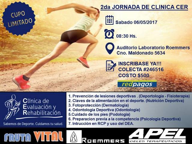 Jornada de clínica CER en laboratorio Roemmers (Montevideo, 06/may/2017)