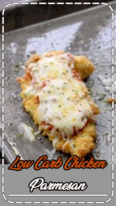 Baked Chicken Parmesan - wait until you check out that low carb breading! It's so easy and it's keto friendly! #recipe #keto #lowcarb