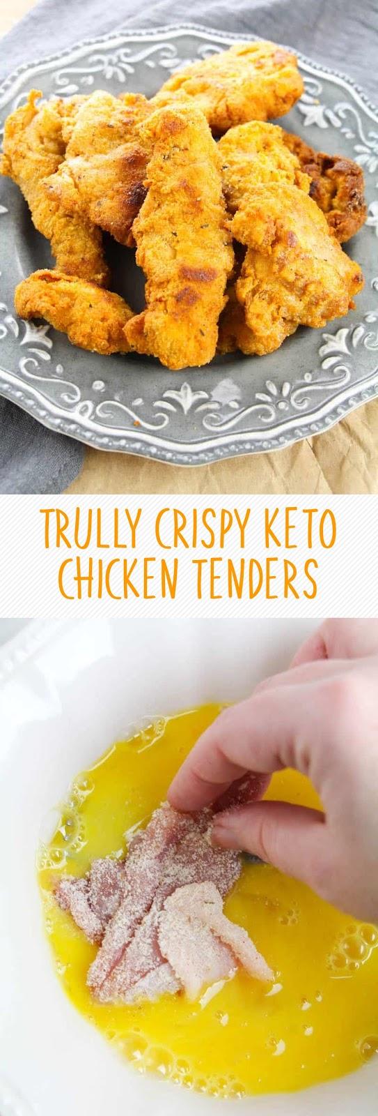 TRULLY CRISPY KETO CHICKEN TENDERS