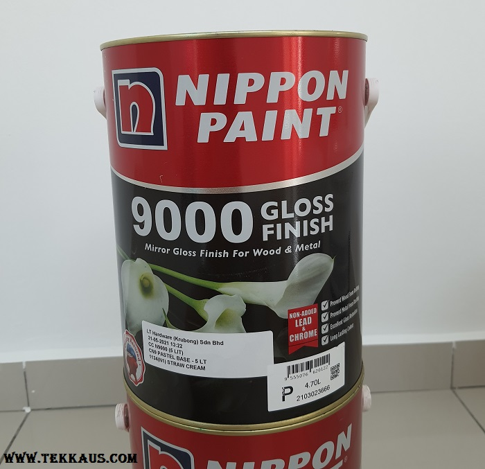 Nippon Paint Gloss Finish For Wood and Metal