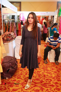 Bollywood Actress Sana Khan Launches Aakrithi Exibition  0202.JPG