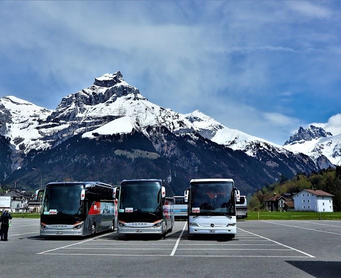 Bus Ride thru Mt. Titlis