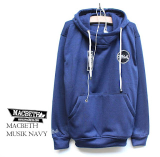 Jaket Fleece Hoodie Macbeth MAC016