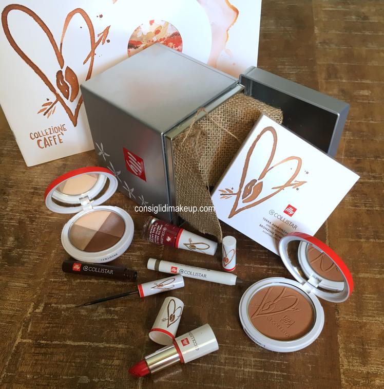 Collezione Caffè Collistar, make-up in collaborazione con Illy