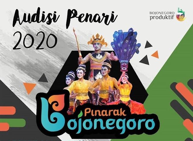 audisi penari bojonegoro 2020