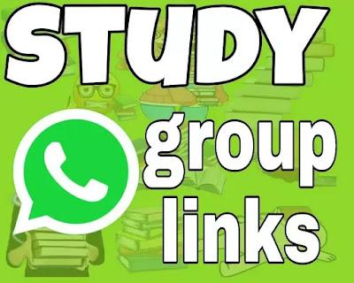 Study WhatsApp group