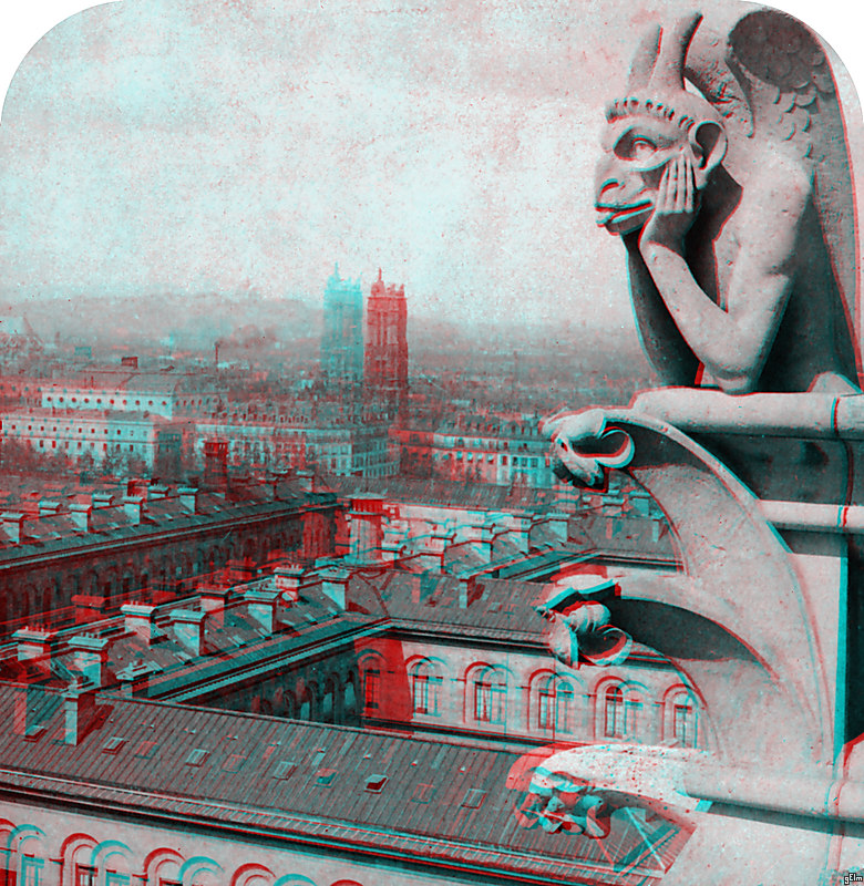 Stoic Decay: 3D Library of Congress: Four
