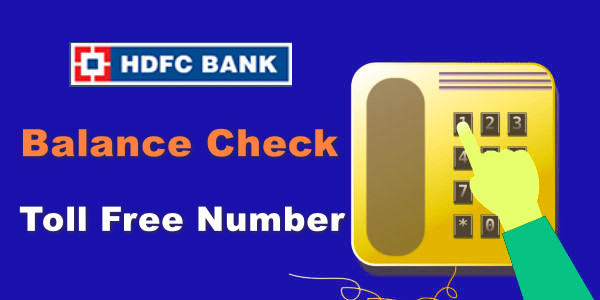 HDFC Bank Balance Kaise Check Kare