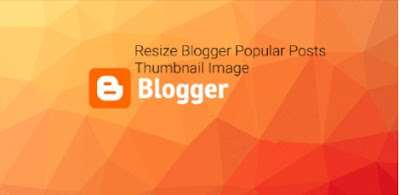 How to change thumbnail size for popular post widget