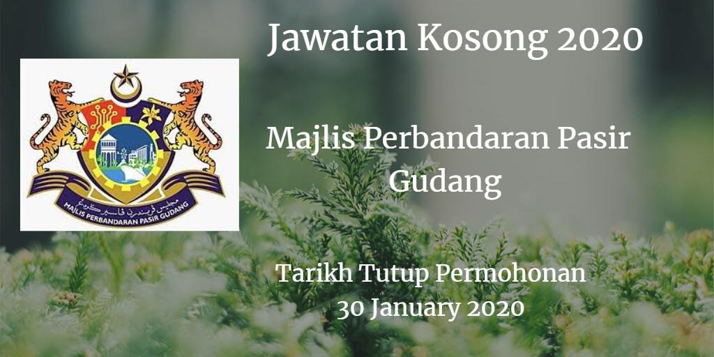 Jawatan Kosong MPPG 30 January 2020