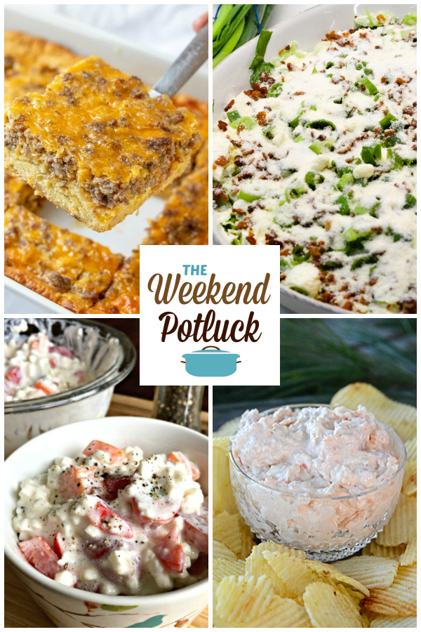 A virtual recipe swap with Sausage and Egg Casserole, Overnight Lettuce Salad, Grandma's Cottage Cheese Salad, Shrimp Dip and more!