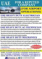Airport Operation Job Vacancy in UAE