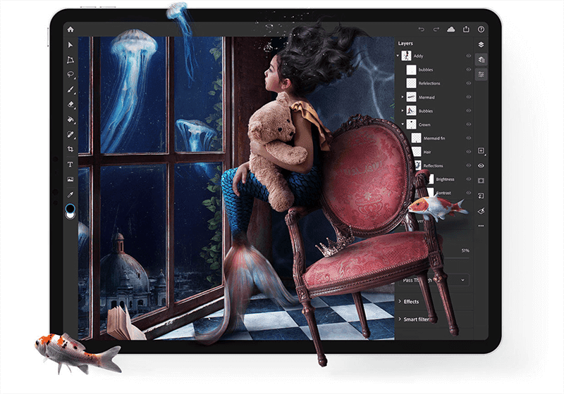 Adobe Photoshop now available for the Apple iPad!