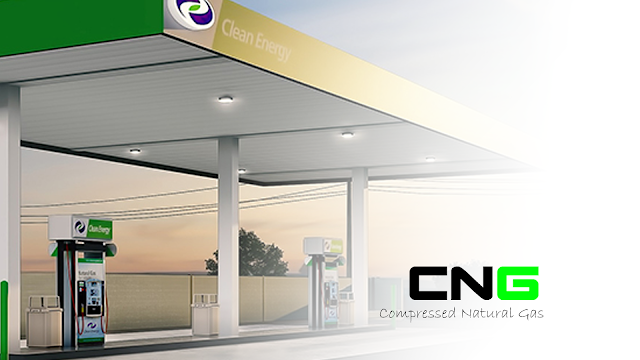 Full form of CNG gas