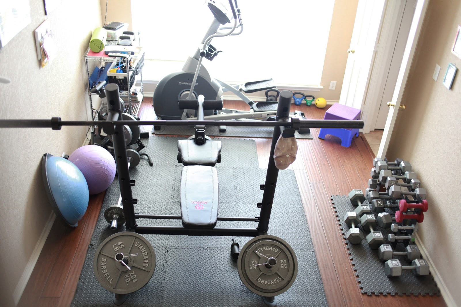 Blood, Sweat, &...Mini Vans: My Home Gym {San Antonio
