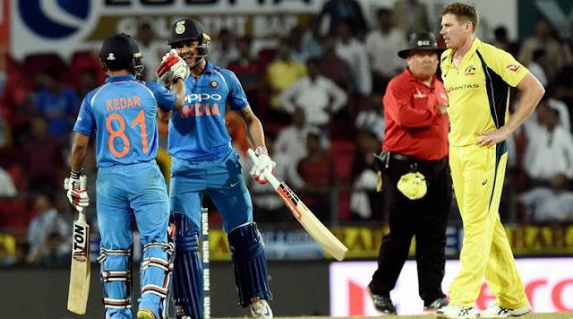 India win 5th ODI vs Australia by 7 wickets, become World No.1