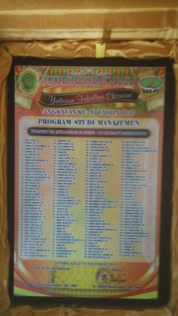 Plakat Universitas Islam Indragiri