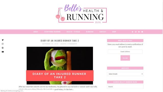 BELLE'S RUNNING BLOG