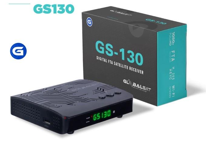 GLOBALSAT GS130 NOVA ATUALIZAÇÀO V142 - 22/05/2020